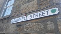 Street Sign to Carry the Grenfell Green Heart